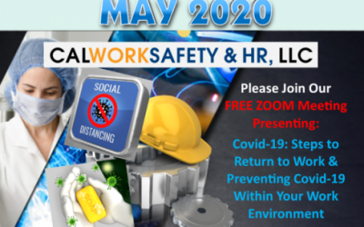 Attend Our Covid-19 Prevention Update