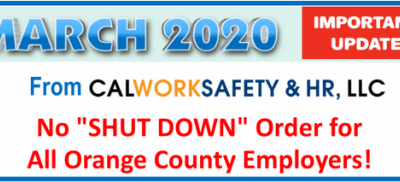 No SHUT DOWN Order for All Employers!