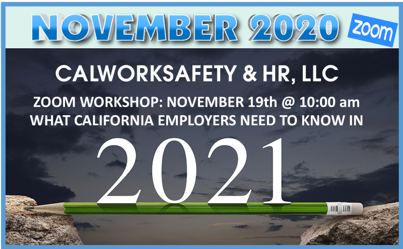 What California Employers Need To Know In 2021