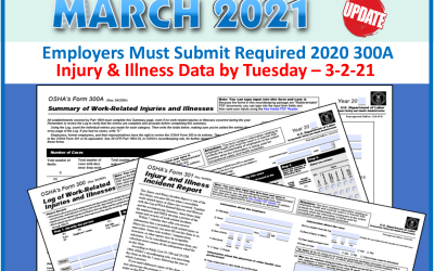 Employers Must Submit Injury & Illness Data by March 2nd