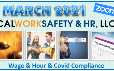 Wage and Hour COVID-19 Compliance