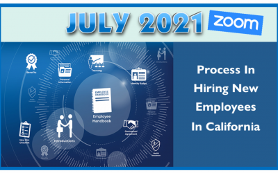 Process For Handling New Employees In CA