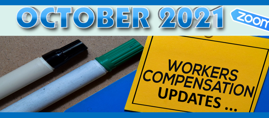 Workers Compensation Updates